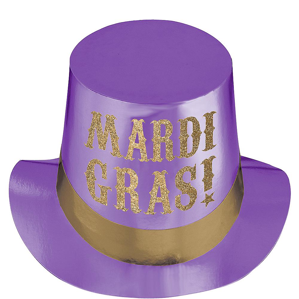 Mardi Gras Top Hat Image #1
