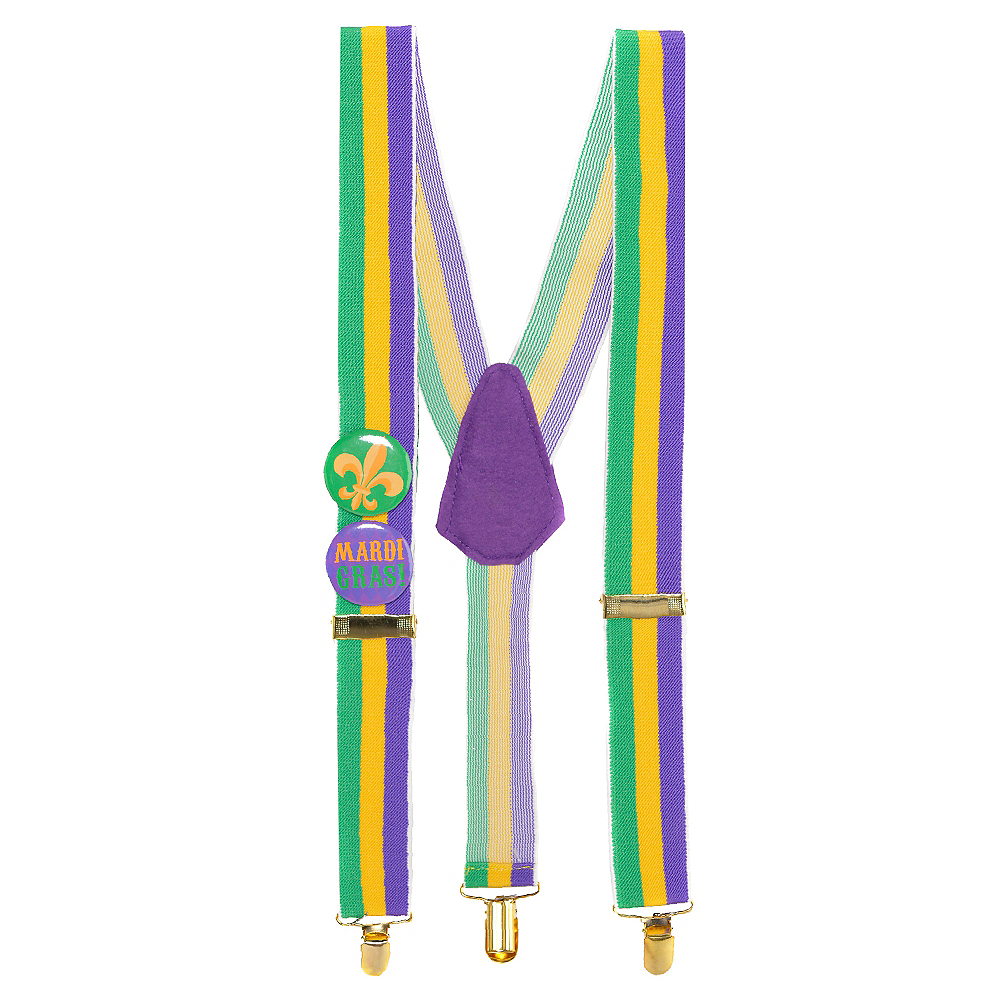 Nav Item for Mardi Gras Suspenders Image #1