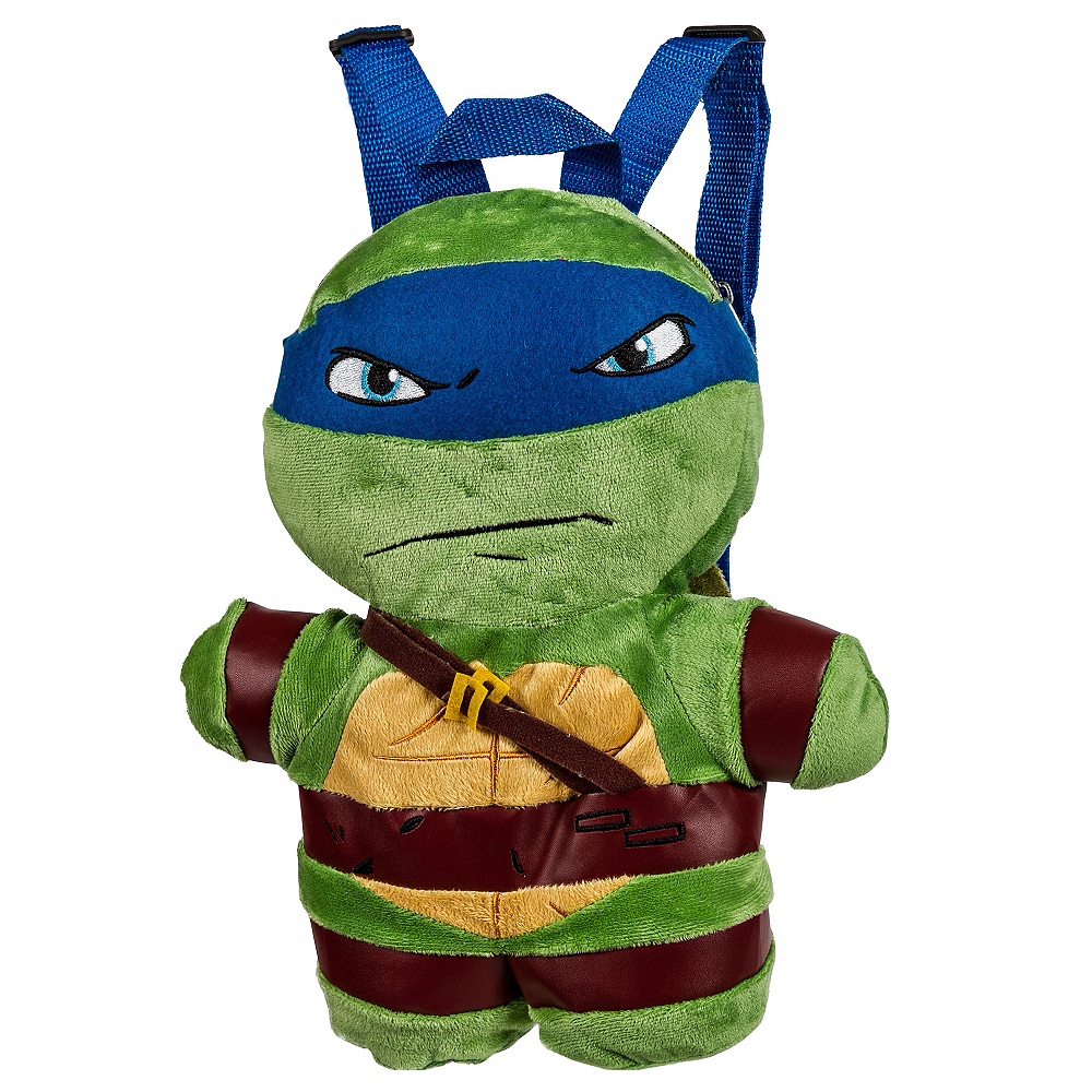 Leonardo Plush Backpack - Teenage Mutant Ninja Turtles Image #1