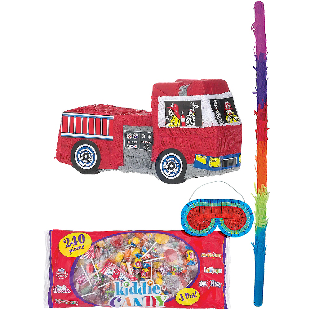 Nav Item for Fire Engine Pinata Kit Image #1