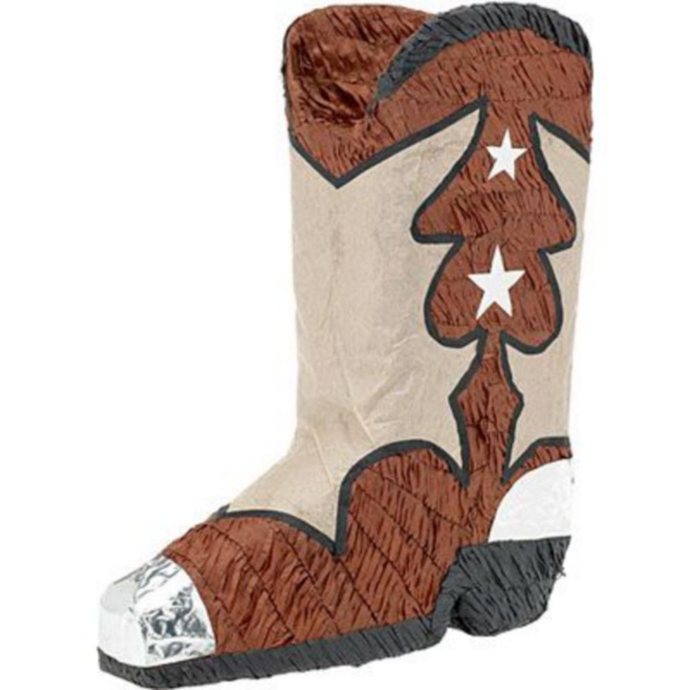 Cowboy Boot Pinata Kit Image #2
