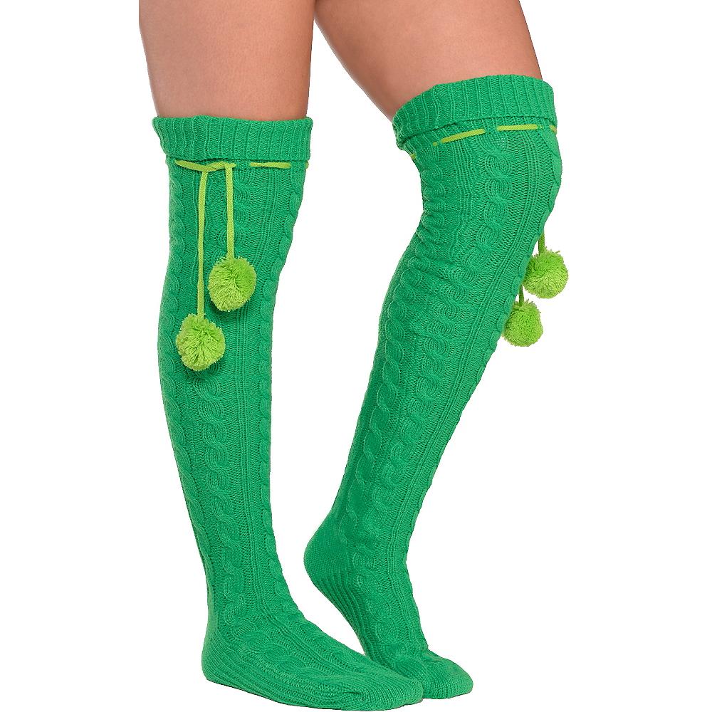 Green Boot Socks Image #1