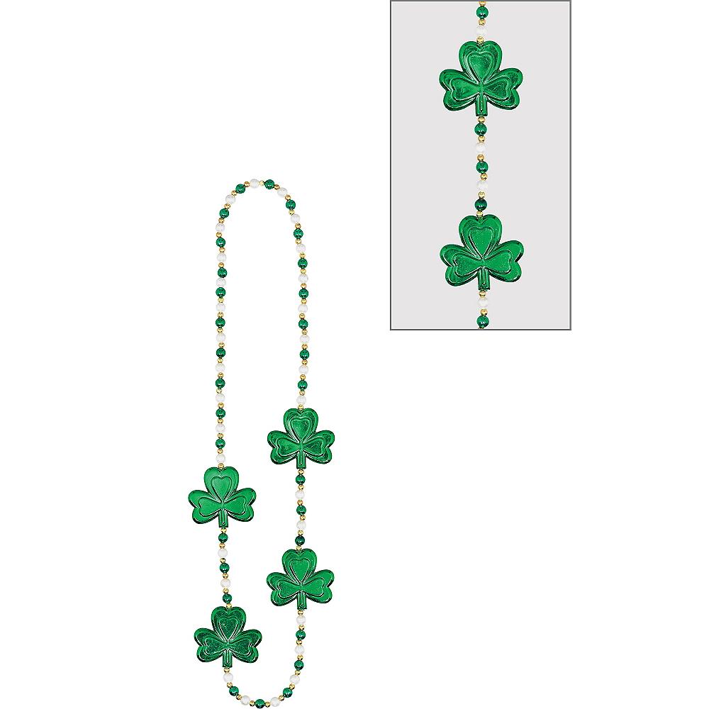 Pearl & Shamrock Necklace Image #1