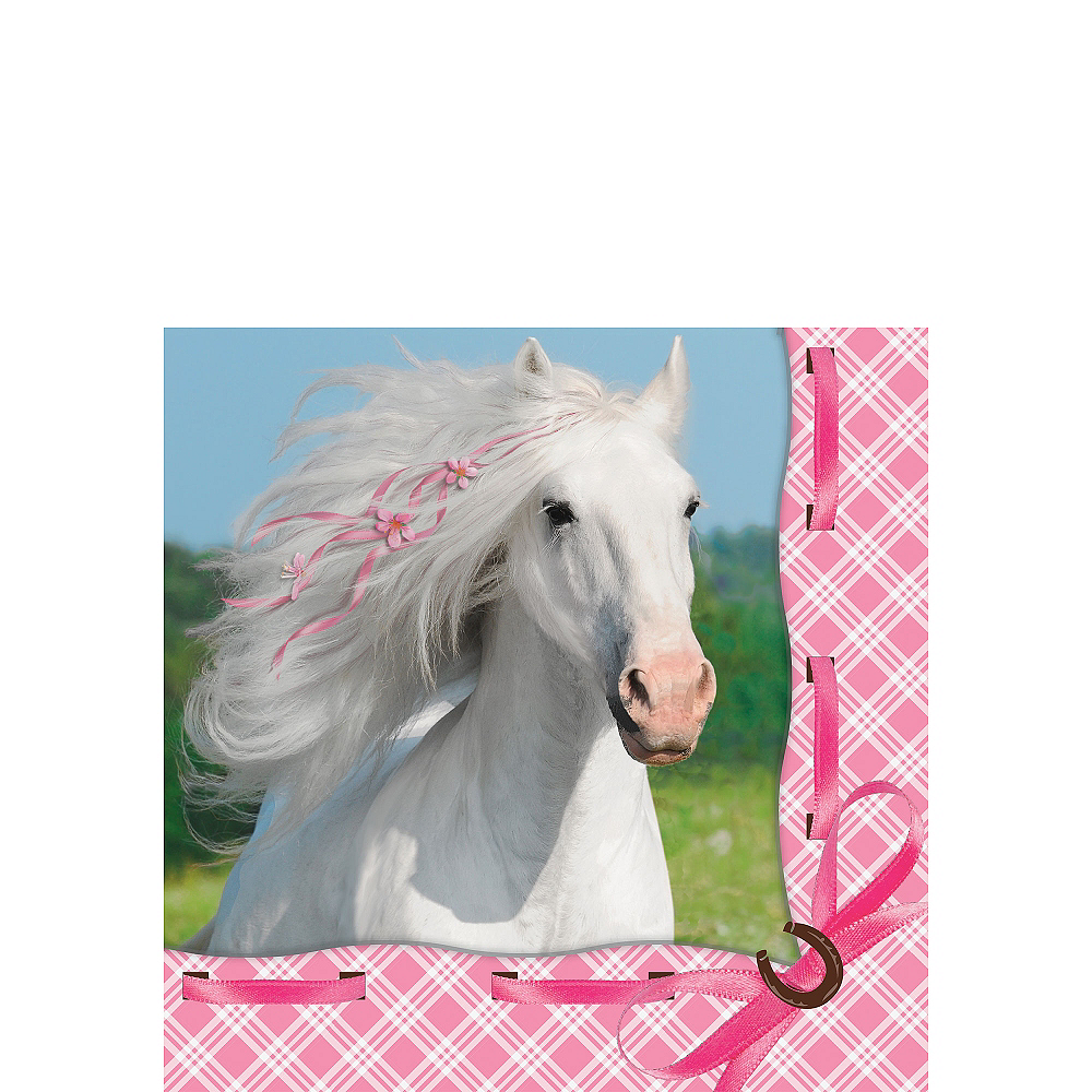 Heart My Horse Beverage Napkins 16ct Image #1