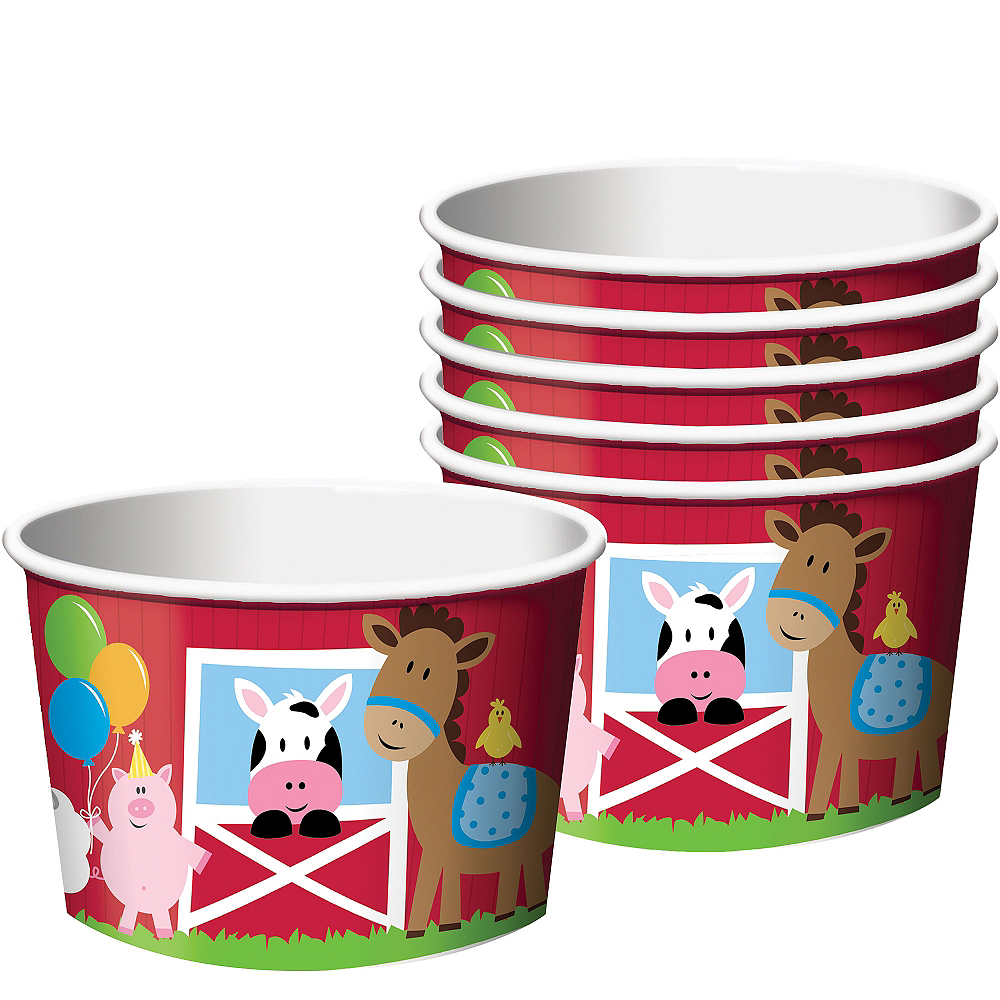 Nav Item for Farmhouse Fun Treat Cups 6ct Image #1