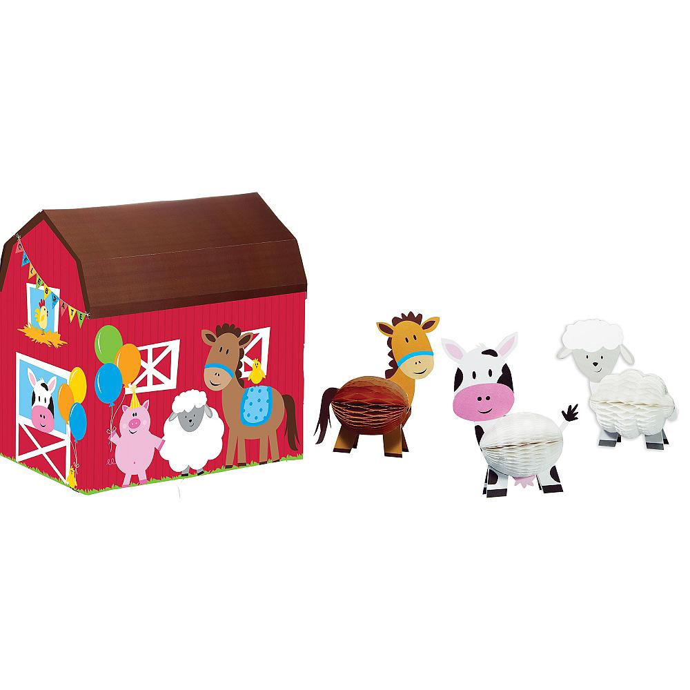Farmhouse Fun Centerpiece Kit 4pc Image #1