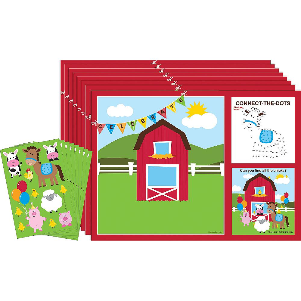 Farmhouse Fun Activity Kits for 8 Image #1