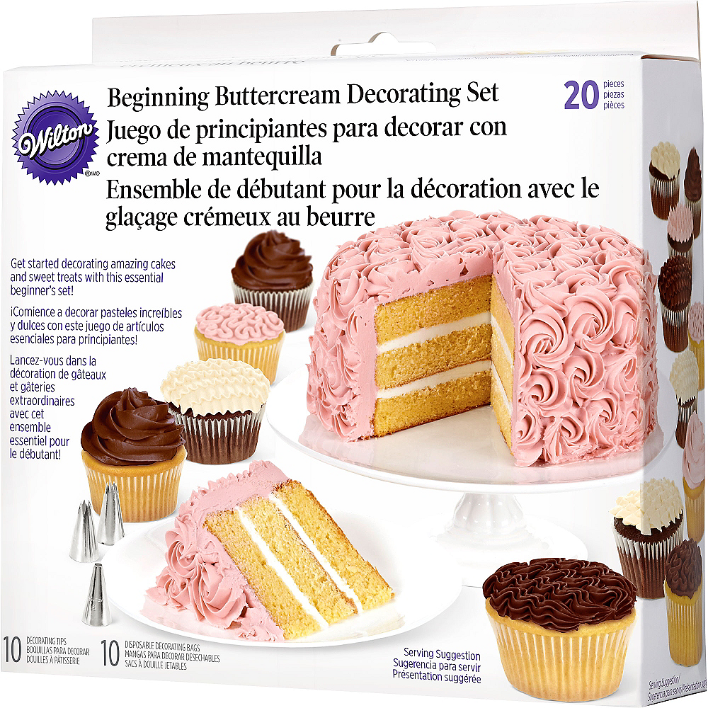 Wilton Beginner's Cake Decorating Set 20pc | Party City
