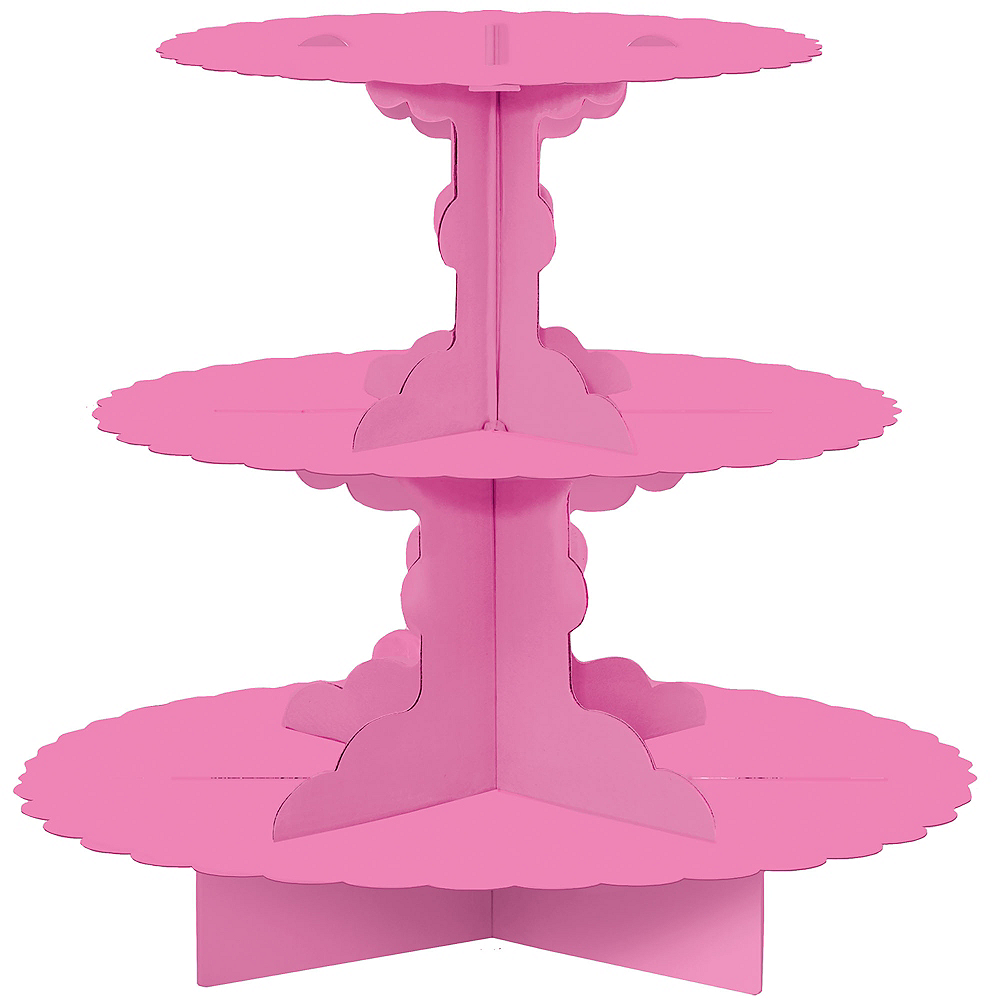 Nav Item for Bright Pink Cupcake Stand Image #1