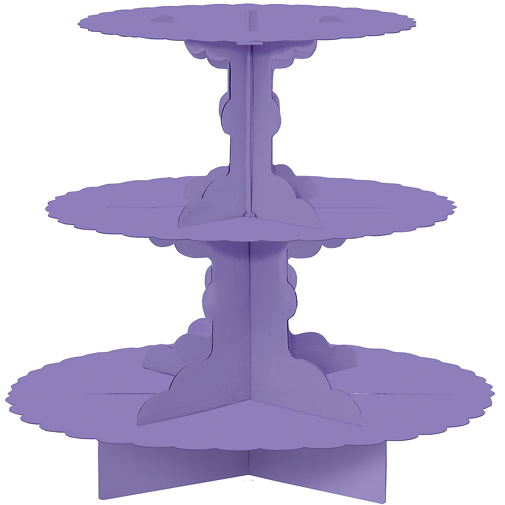Nav Item for Purple Cupcake Stand Image #1