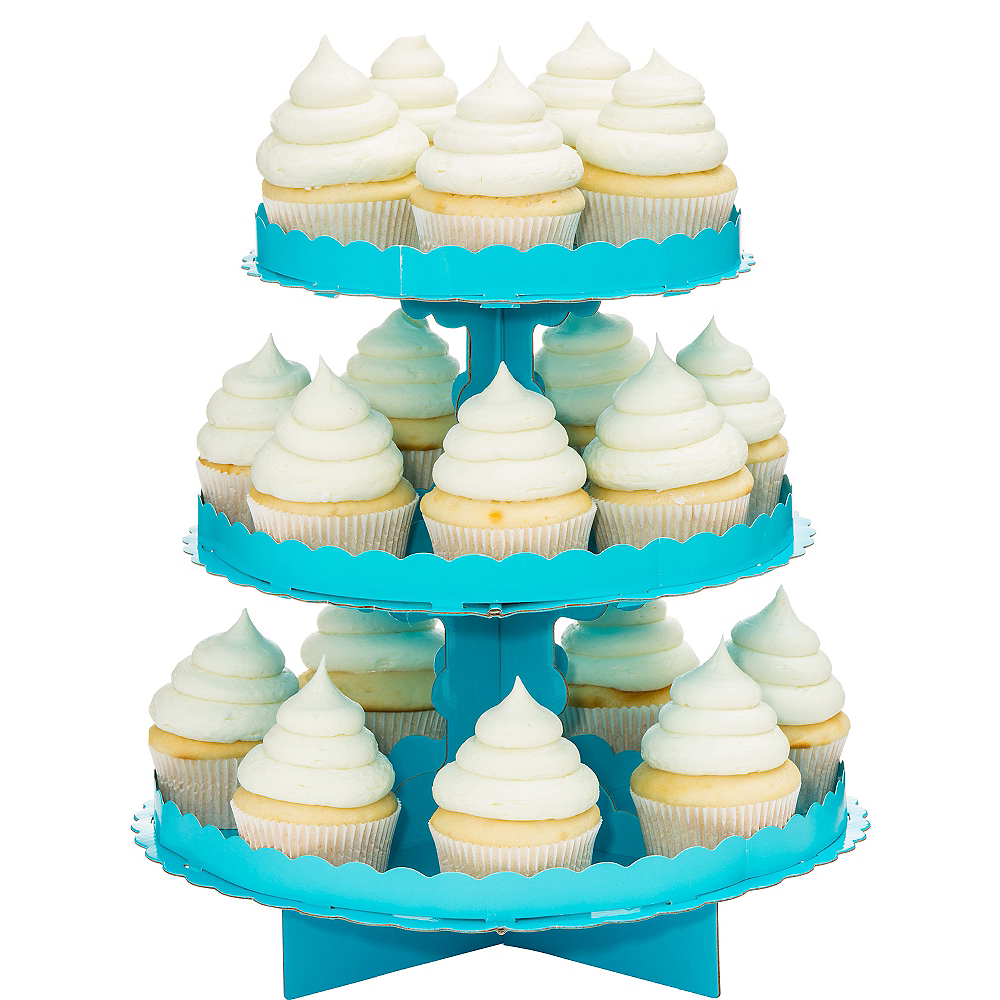 Nav Item for Caribbean Blue Cupcake Stand Image #1