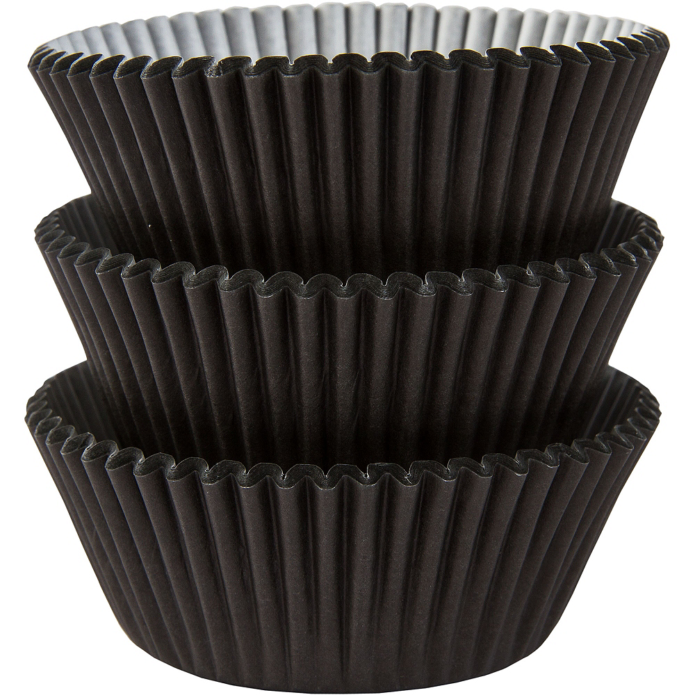 Black Baking Cups 75ct Image #1
