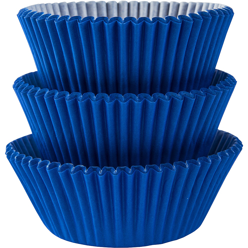 Royal Blue Baking Cups 75ct Image #1