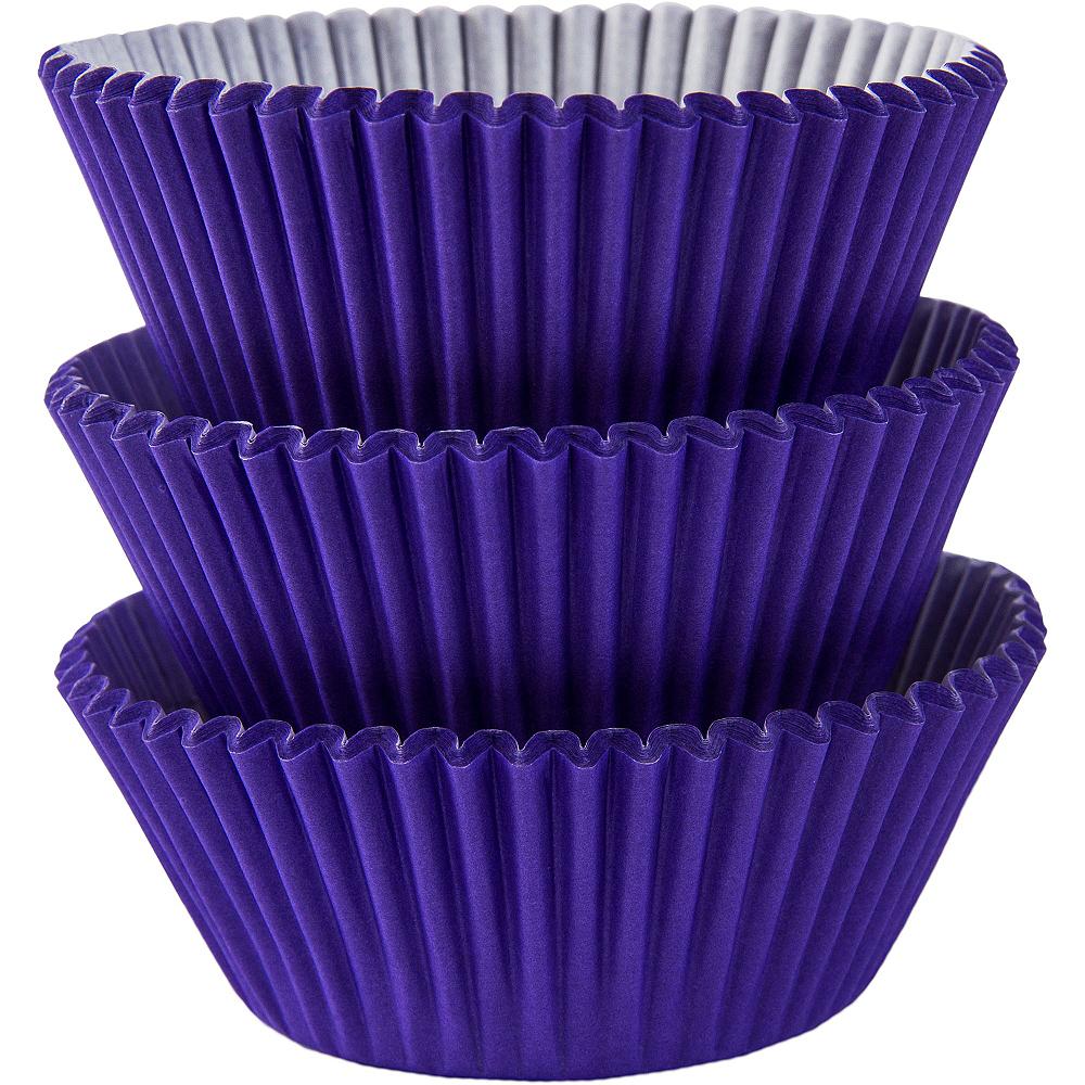 Purple Baking Cups 75ct Image #1