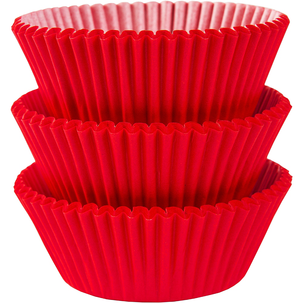 Nav Item for Red Baking Cups 75ct Image #1
