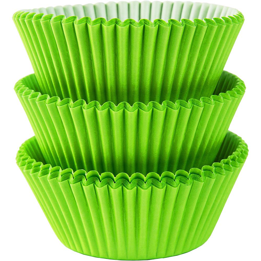 Kiwi Green Baking Cups 75ct Image #1