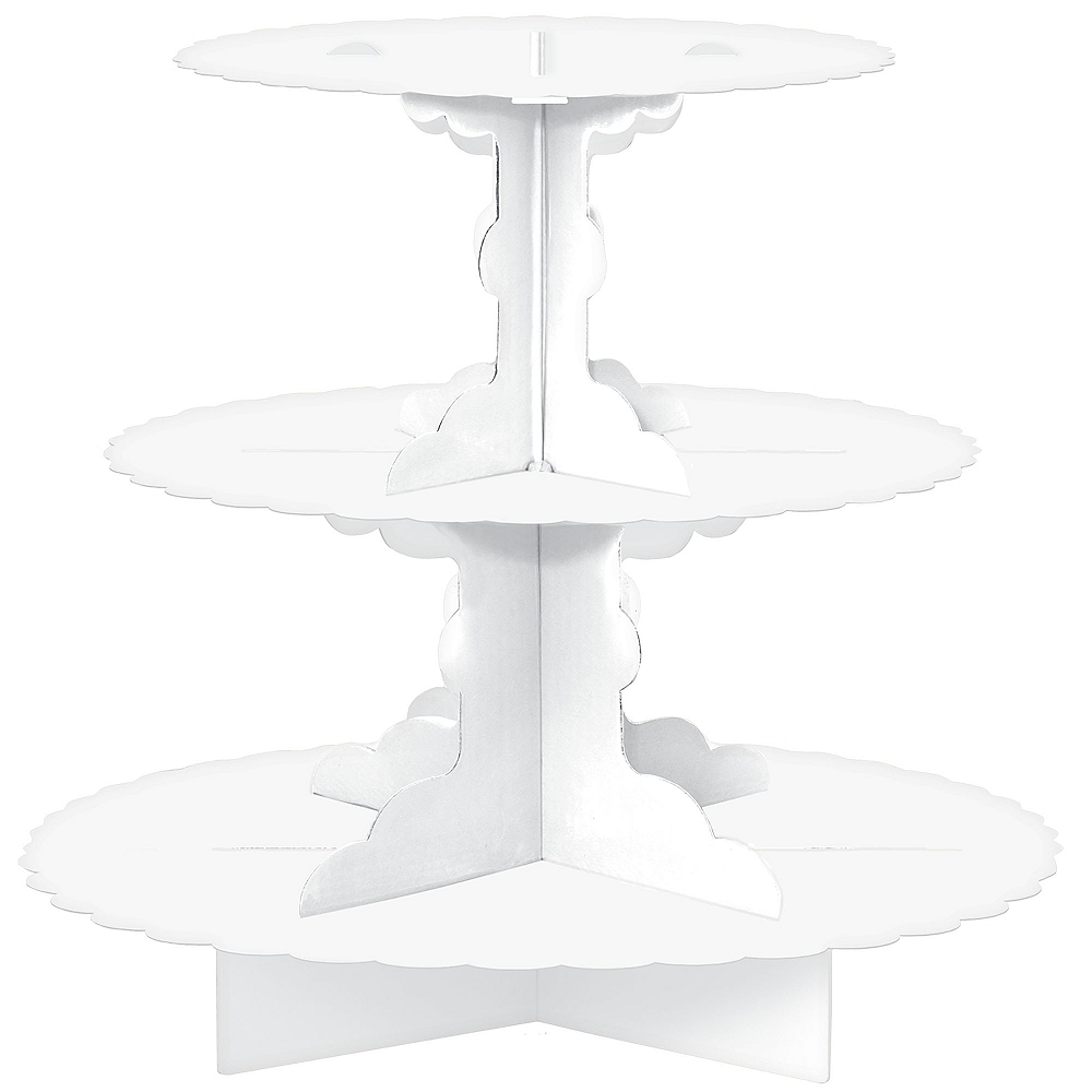 White Cupcake Stand | Party City