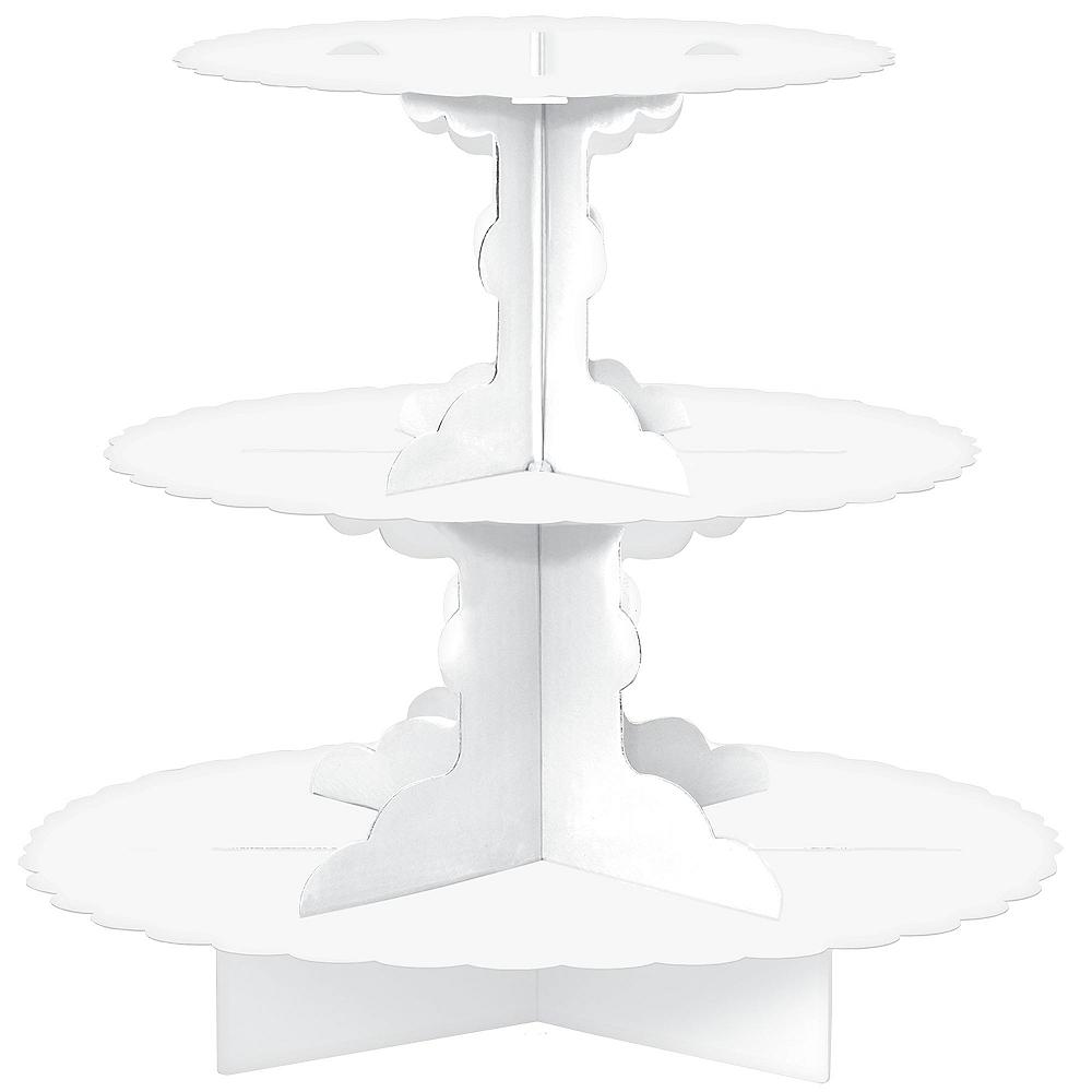 White Cupcake Stand Image #1