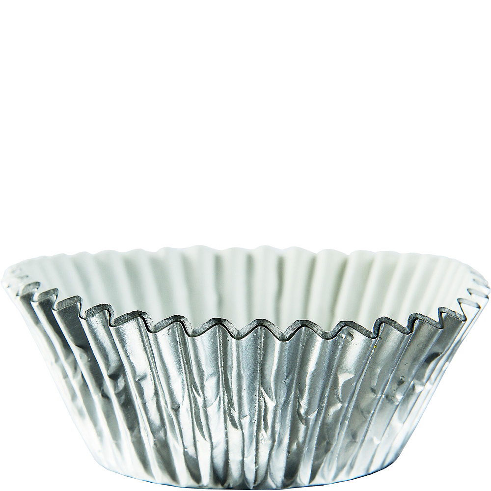 Silver Baking Cups 24ct Image #1