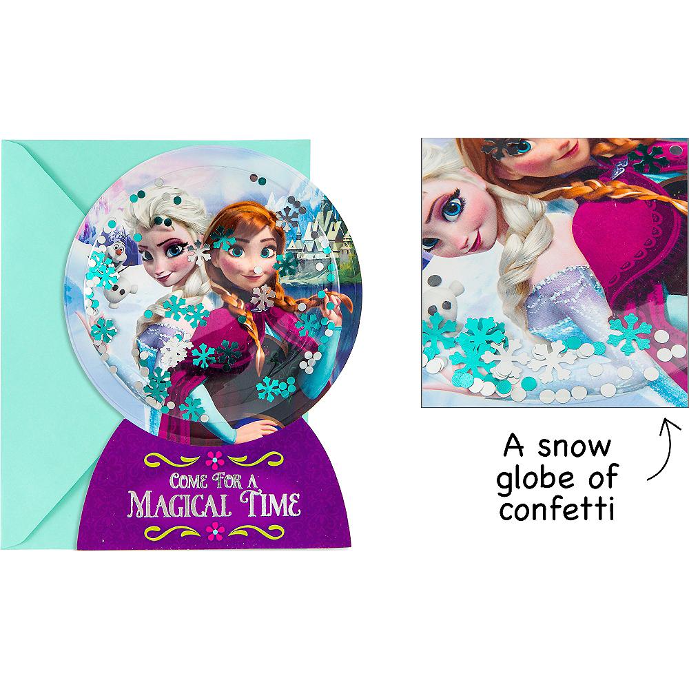 Premium 3d Frozen Invitations 8ct Party City