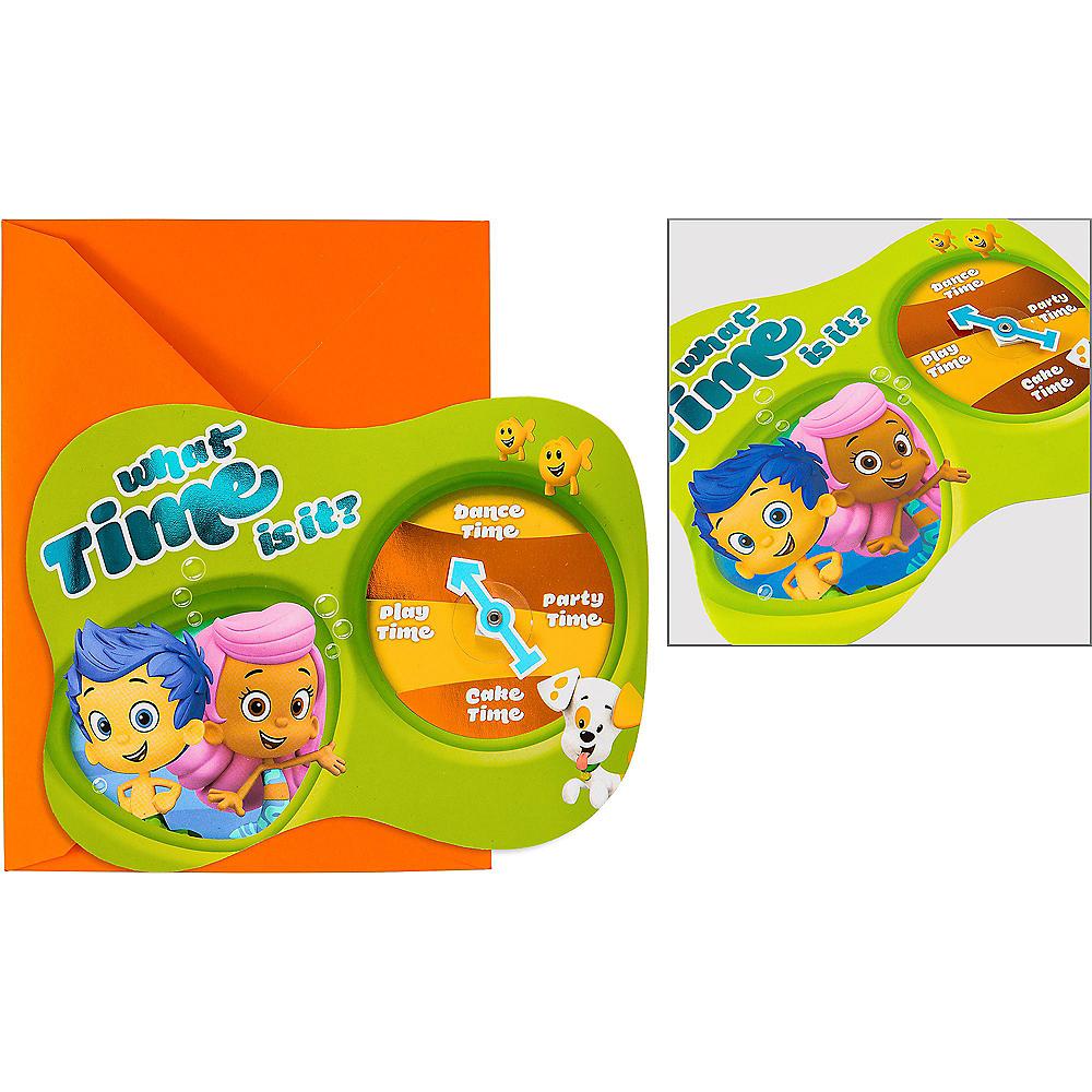 Premium Bubble Guppies Invitations 8ct Image #1