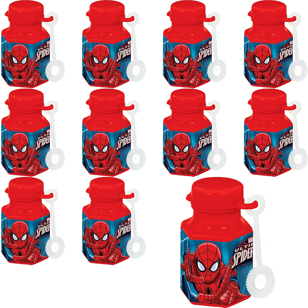 Spider-Man Mini Bubbles 48ct Image #1