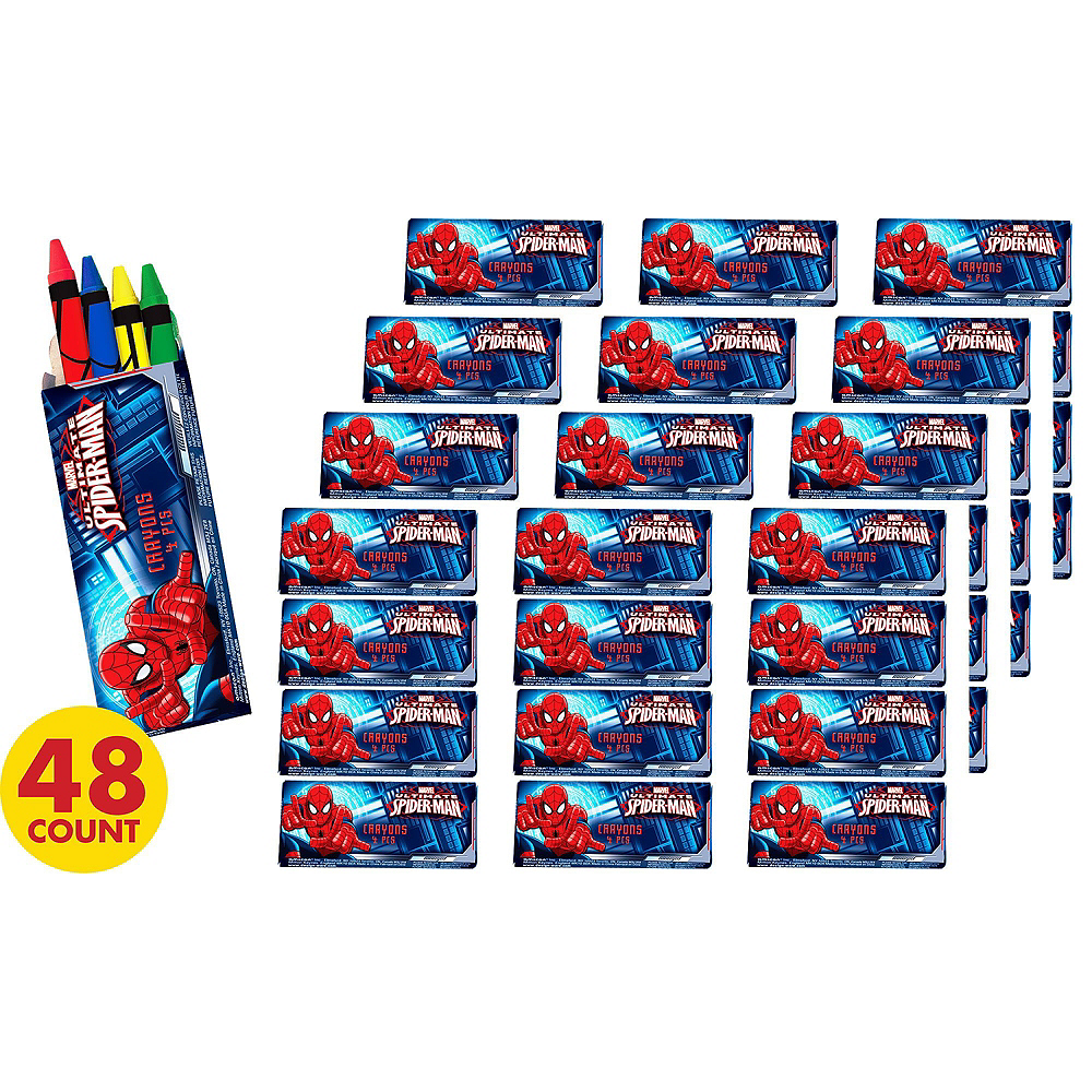 Spider-Man Crayons 48ct Image #2