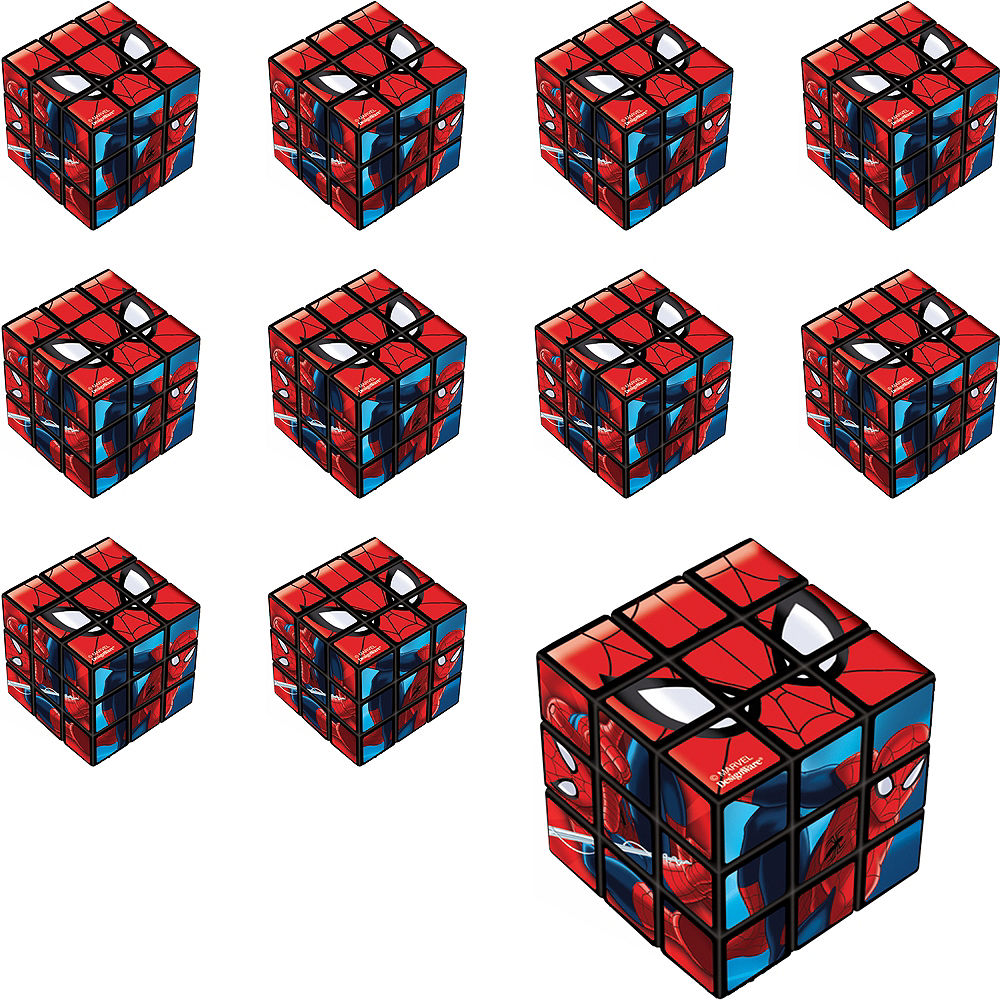 Nav Item for Spider-Man Puzzle Cubes 24ct Image #1