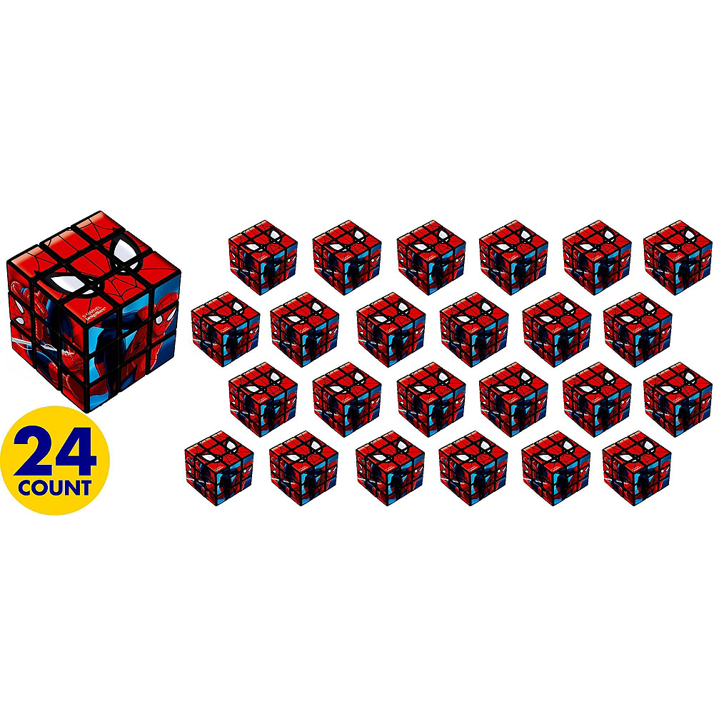 Nav Item for Spider-Man Puzzle Cubes 24ct Image #2