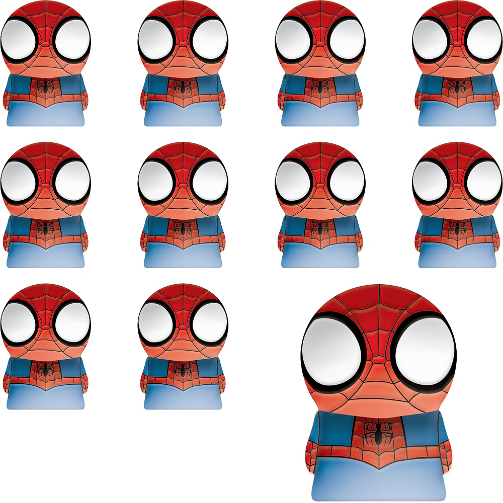 Nav Item for Spider-Man Finger Puppets 24ct Image #1