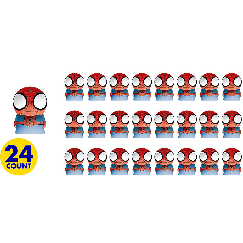 Nav Item for Spider-Man Finger Puppets 24ct Image #2
