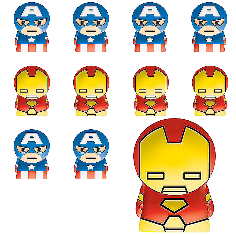 Avengers Finger Puppets 24ct Image #1