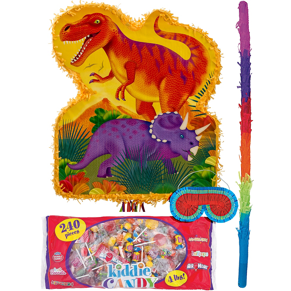 Nav Item for Pull String Prehistoric Dinosaurs Pinata Kit Image #1