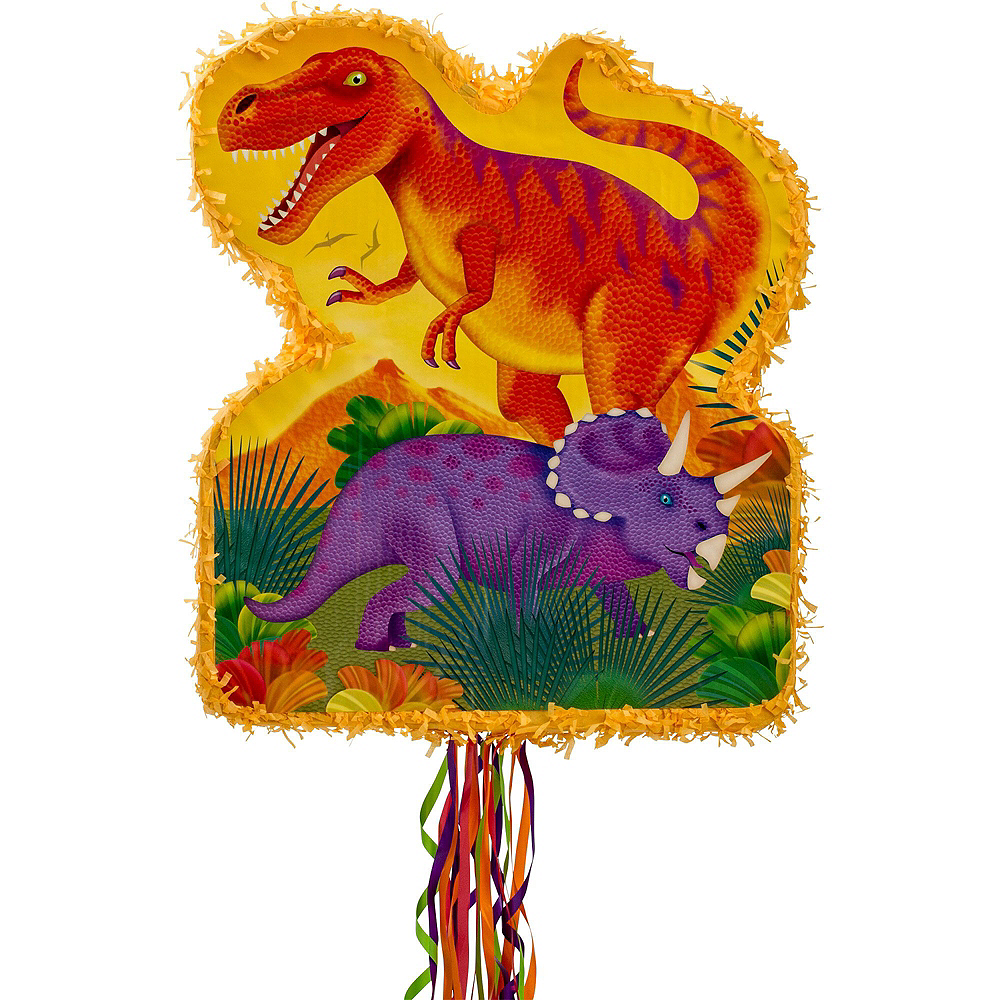 Nav Item for Pull String Prehistoric Dinosaurs Pinata Kit Image #2