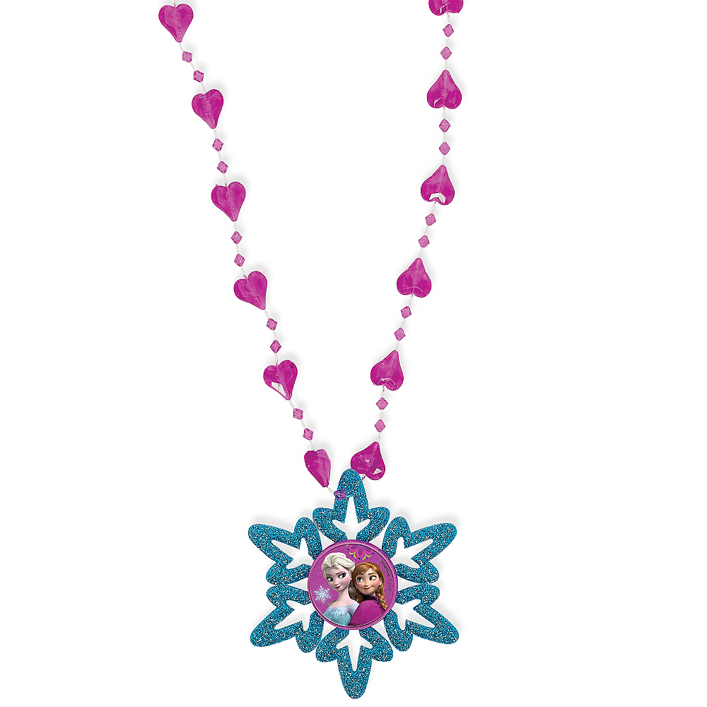 Frozen Snowflake Necklace Image #1