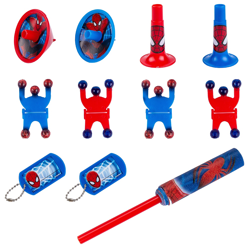 Nav Item for Spider-Man Favor Pack 100pc Image #1