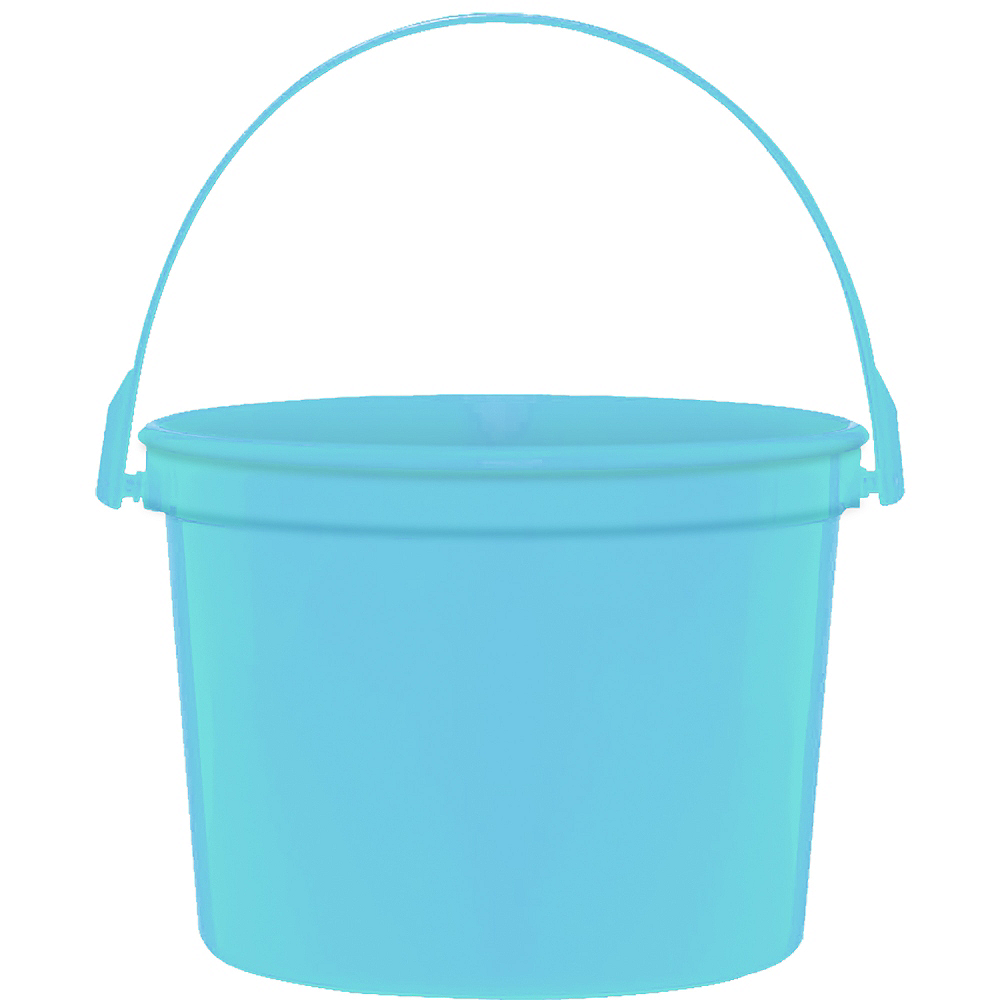 Caribbean Blue Favor Container Image #1