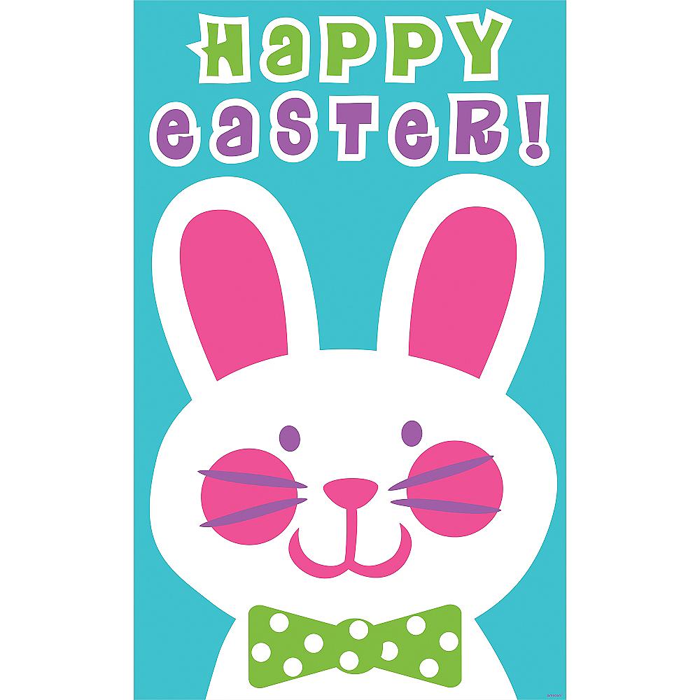 Easter Bunny Potato Sack Race Bags 6ct Image #2