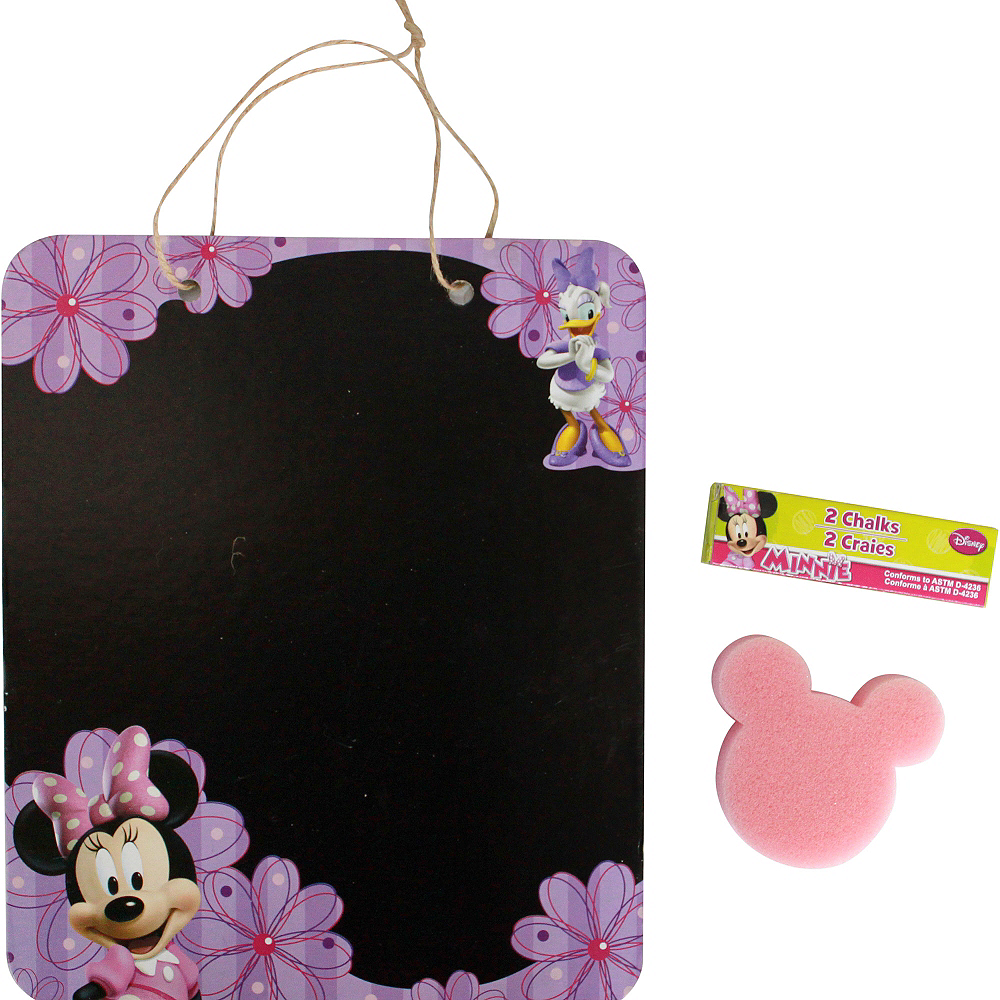 Minnie Mouse Chalkboard Sign Set 3pc Image #1