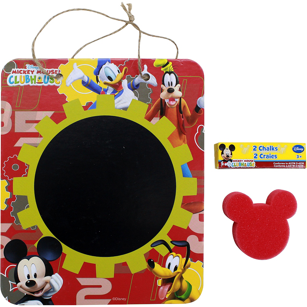 Mickey Mouse Chalkboard Sign Set 3pc Image #1