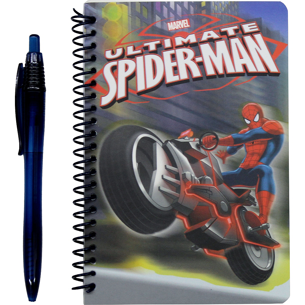 Spider-Man Notebook with Pen Image #1