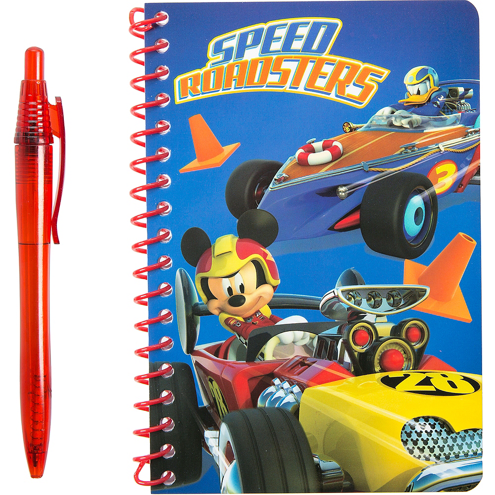 Mickey Mouse Notebook with Pen Image #1