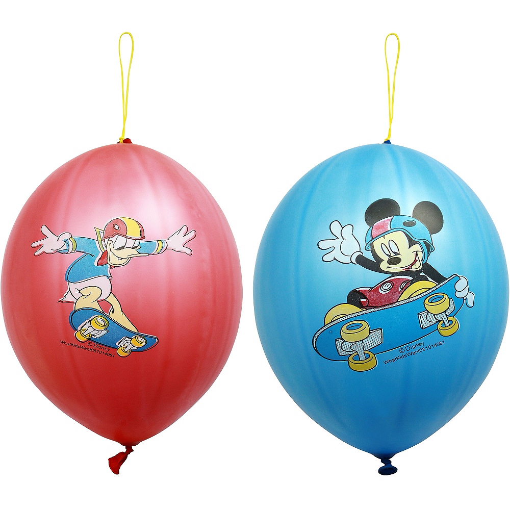 Mickey Mouse Punch Balloons 2ct Image #1