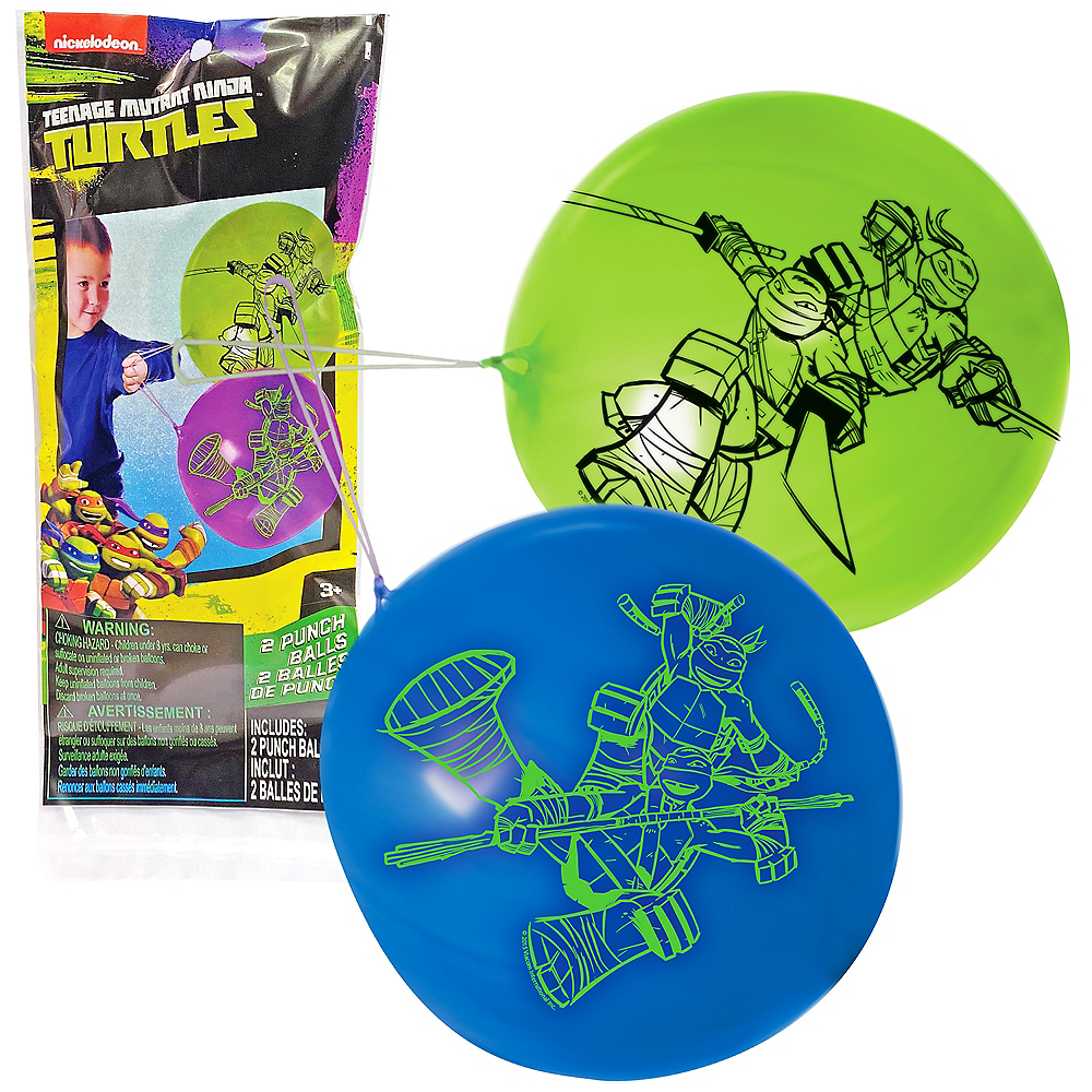 Teenage Mutant Ninja Turtles Punch Balloons 2ct Image #1