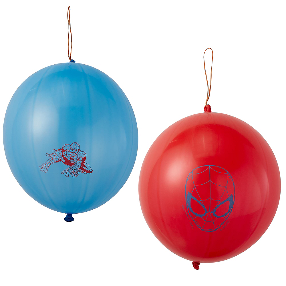 Spider-Man Punch Balloons 2ct Image #1
