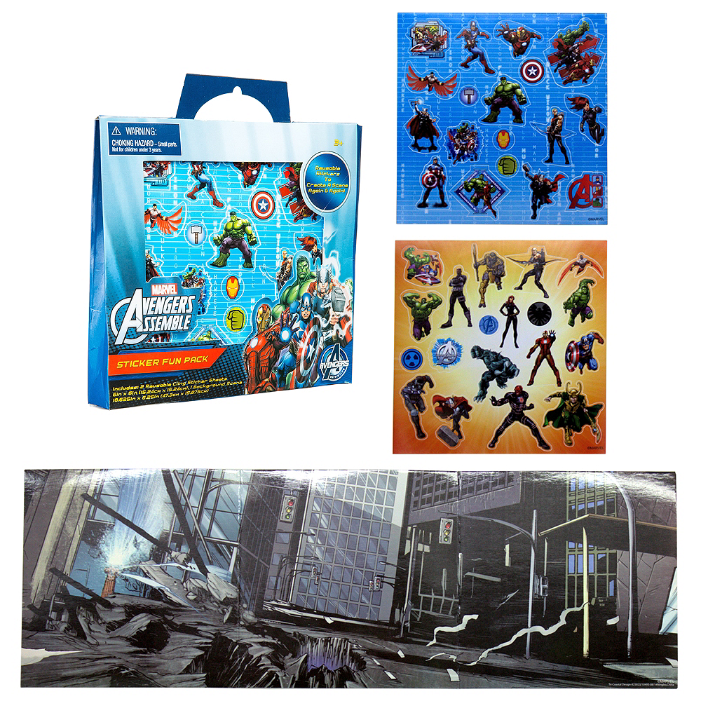 Avengers Sticker Activity Kit Image #1