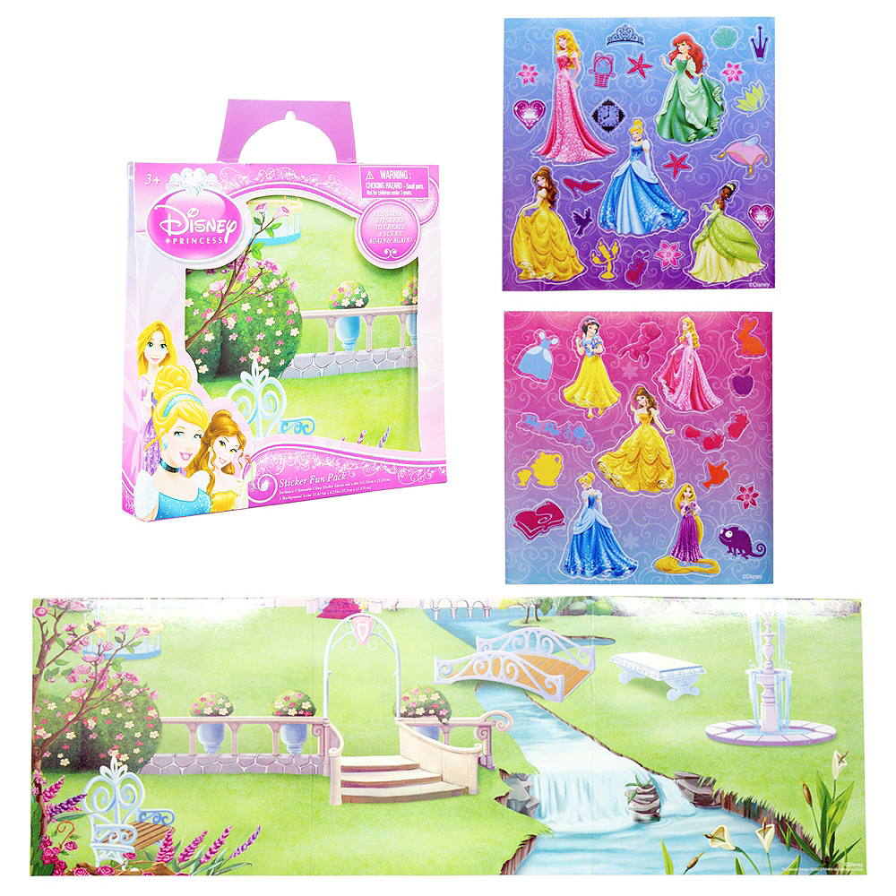 Disney Princess Sticker Activity Kit Image #1