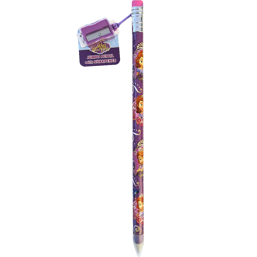 Sofia the First Giant Pencil with Sharpener Image #1