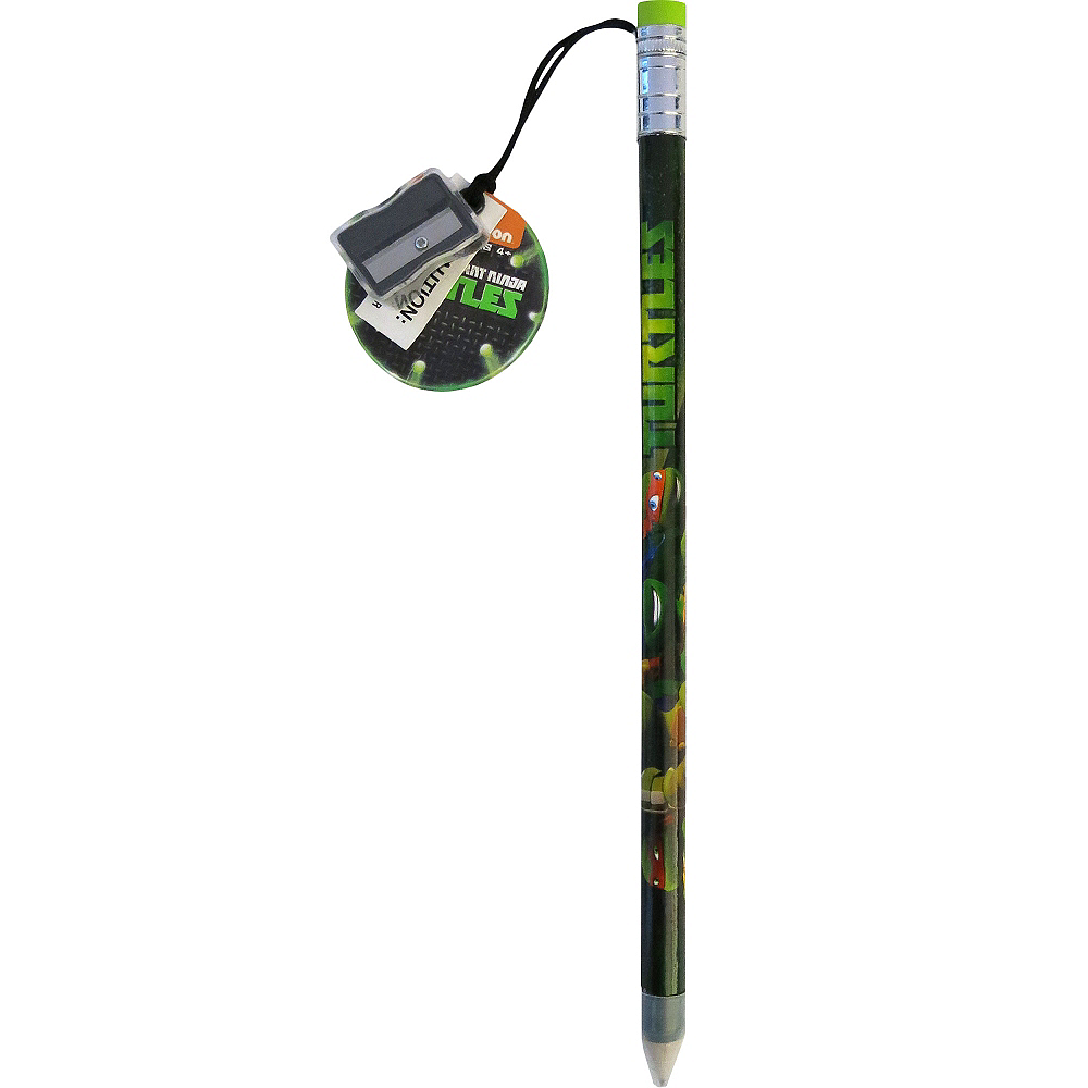 Teenage Mutant Ninja Turtles Giant Pencil with Sharpener Image #1