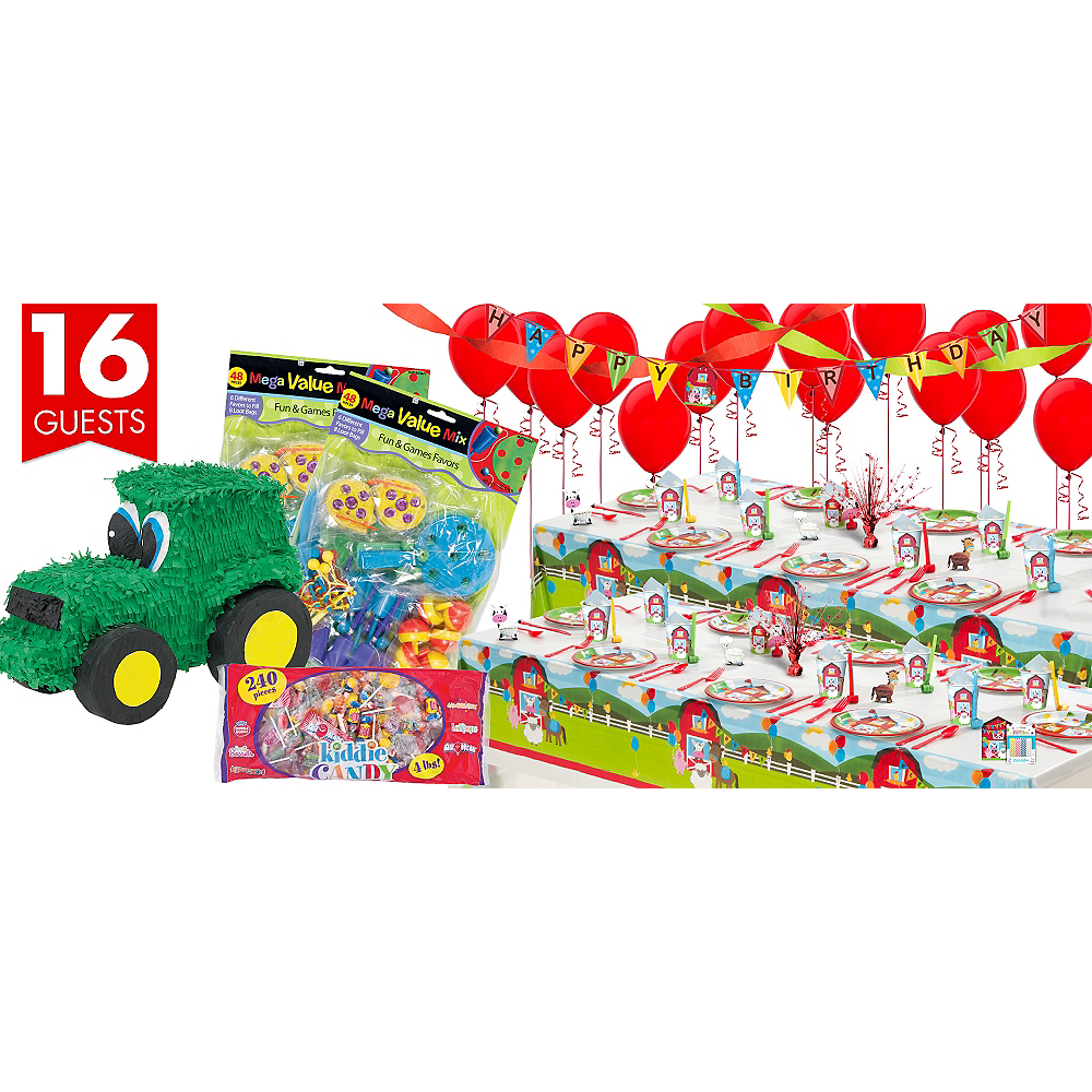 Farmhouse Fun Ultimate Party Kit for 16 Guests Image #1